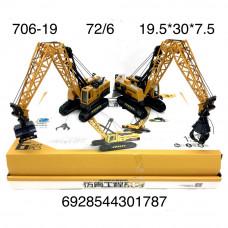 706-19 Подьёмный кран 6 шт. 12 блока . в кор.