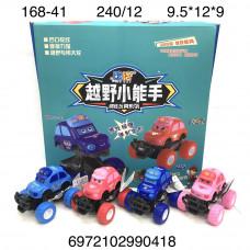 168-41 Машинки Вездеход 12 шт.20 блока . в кор.