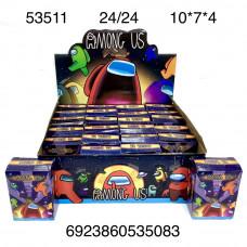 53511 Фигурки НЛО 24 шт. в блоке, 24 блоке. в кор.