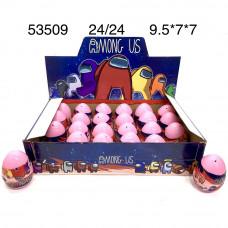 53509 Фигурки НЛО в яйце 24 шт. в блоке, 24 блоке. в кор.