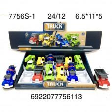 7756S-1 Машинки грузовые 12 шт. в блоке, 24 шт. в кор.