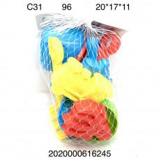 C31 Песочный набор, 96 шт. в кор.