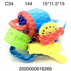 C34 Песочный набор, 144 шт. в кор.