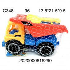 C348 Песочный набор Грузовик, 96 шт. в кор.