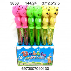 3853 Мыльные пузыри Животные 24 шт. в блоке, 6 блока . в кор.