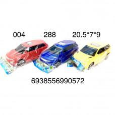 004 Машинка в пакете, 288 шт. в кор.
