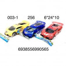 003-1 Машинка в пакете, 256 шт. в кор.