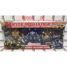 89305 Роботы Трансформеры 3 Робота 24 шт в кор.