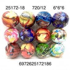 25172-18 Мячи 12 шт. в блоке, 60 блока . в кор.