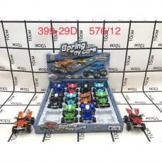399-29D Машинки Вездеход 12 шт. в блоке, 576 шт. в кор.