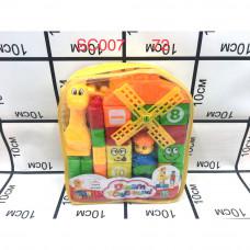 SC007 Конструктор кубики  для малышей 72 шт в кор.