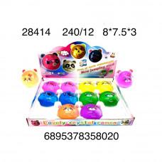 Лизун Animals 12 шт. в блоке, 240 шт. в кор. 28414