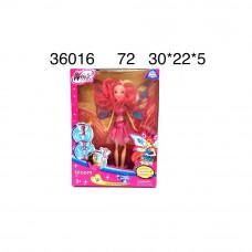Кукла Фея, 72 шт. в кор. 36016