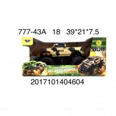 Машина военная Р/У, 18 шт. в кор. 777-43A
