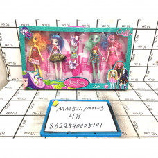 Куклы Фея 4 шт. в наборе, 48 шт. в кор. MM514/MM-5