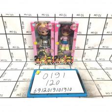 Кукла 18 см, 120 шт. в кор. 0191