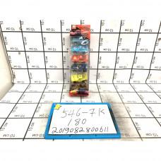 Модельки Тачки 6 шт. в блоке, 180 шт. в кор. 546-7K