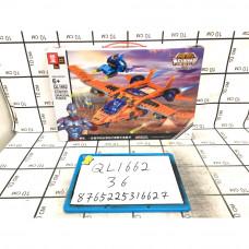 Конструктор Супергерои 373 дет., 36 шт. в кор. QL1662