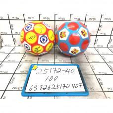 Мяч футбол 100 шт в кор. 25172-40
