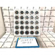 Неодимовый магнит 25 шт. в блоке, 100 шт. в кор. 2188-53