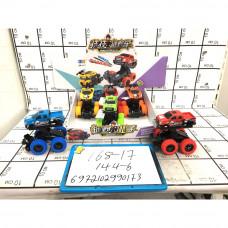 Машинки багги 6 шт. в блоке, 144 шт. в кор. 168-17
