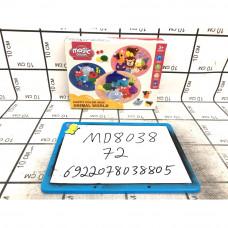 Масса для лепки Животные 72 шт в кор. MD8038