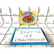 Масса для лепки Пироженные 108 шт в кор. 8024-12