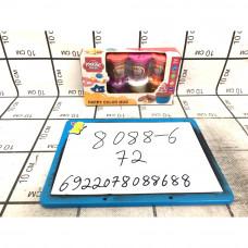 Масса для лепки 8 шт в наборе, 72 шт в кор. 8088-6