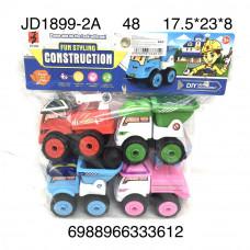 JD1899-2A Машинки конструктор 4 шт. в пакете, 48 шт. в кор.