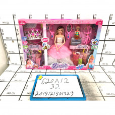 Кукла с пупсом и аксессуарами, 32 шт. в кор. 620A12