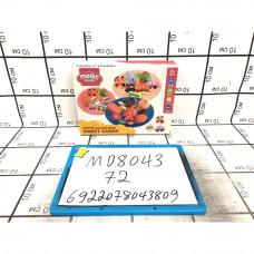 Набор для лепки Сладкие конфеты, 72 шт. в кор. MD8043