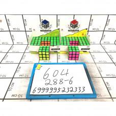 Кубик-Рубик 6 шт. в блоке, 288 шт. в кор. 604