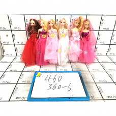 Куклы 6 шт. в блоке, 360 шт. в кор. 460