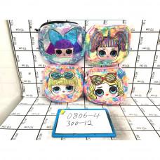 Рюкзак с пайетками Лол 12 шт. в блоке, 300 шт. в кор. 0806-300-4
