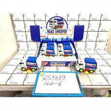 Грузовая техника на батарейках 6 шт. в блоке, 144 шт в кор. RS5669
