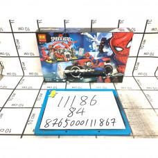 Конструктор Супергерои 252 дет. 84 шт в кор. 11186