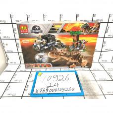 Конструктор Динозавр 593 дет. 24 шт в кор. 10926