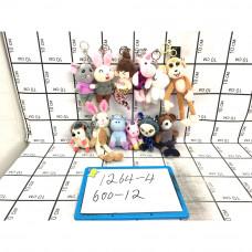 Мягкие игрушки Брелок 12 шт. в блоке, 600 шт в кор. 1264-4