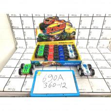 Машинка перевертыш Вездеход 12 шт в блоке, 360 шт в кор. 690A