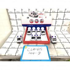 Скорая помощь свет звук 8 шт. в блоке, 144 шт в кор. CLM-61S