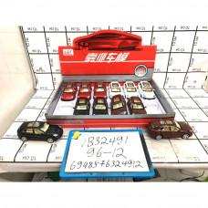 Машинки 12 шт. в блоке, 96 шт. в кор. VB32491