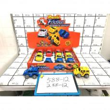 Машинки 12 шт. в блоке, 288 шт. в кор. 588-12