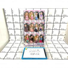 Куклы 12 шт. в блоке, 48 шт. в кор. 266A