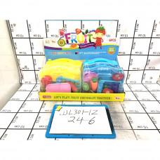 Набор фруктов в кейсе 6 шт. в блоке, 144шт. в кор. JJL301-1Z