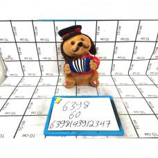 Мягкая игрушка Собака с гармошкой (муз.), 60 шт. в кор. 6398