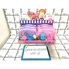 Набор посуды для десерта в кейсе 6 шт. в блоке, 144 шт. в кор. JJL-201-12-JJL20HZ