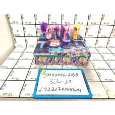 Пони 30 шт. в блоке, 960 шт. в кор. SM40086-705B