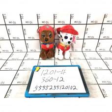 Мягкая игрушка Собачки 12 шт. в блоке, 360 шт в кор. 1201-4