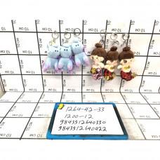 Мягкие игрушки Брелок 12 шт. в блоке, 1200 шт. в кор. 1264-42-33