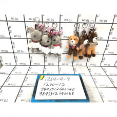 Мягкие игрушки Брелок 12 шт. в блоке, 1200 шт. в кор. 1264-4-8